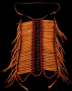Native American Bone Breastplate