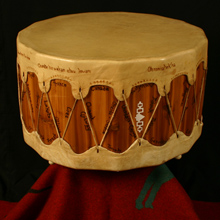 Hand Made Native Drums For Sale